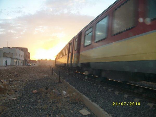 DH 350 xx en sortant d'Oujda pour Casablanca à 20h