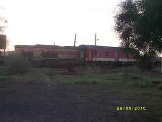 DH 374 + DH 372 au depot d'Oujda