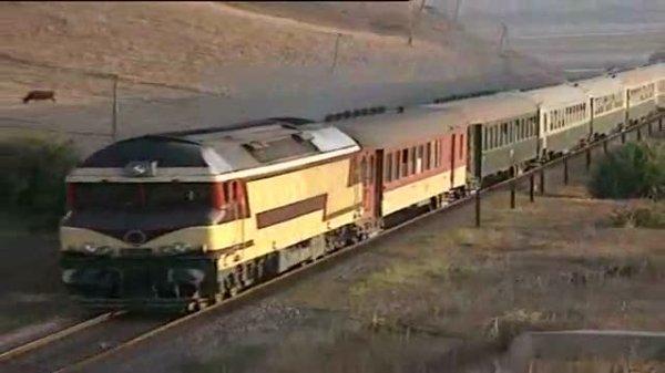 DF 100 Tanger-Sidi Kacem avec l'ancienne livrée