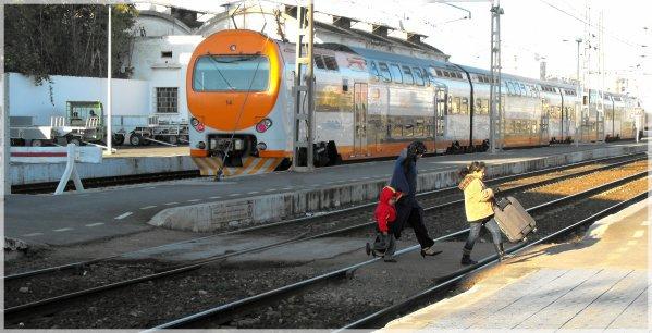 Z2M à Casablanca-Voyageurs