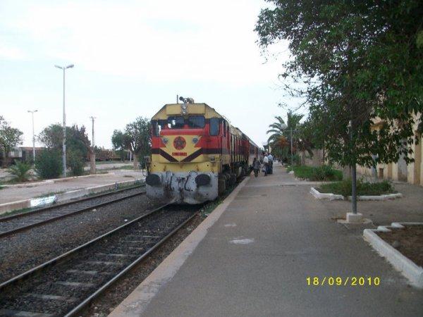 DH 367 à la gare d'Oujda