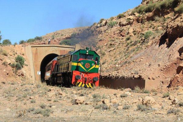"""DK 559 """" Oriental Desert Express """" Oujda-Bouarfa"""