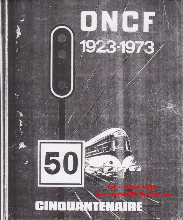 Ancienne affiche ONCF