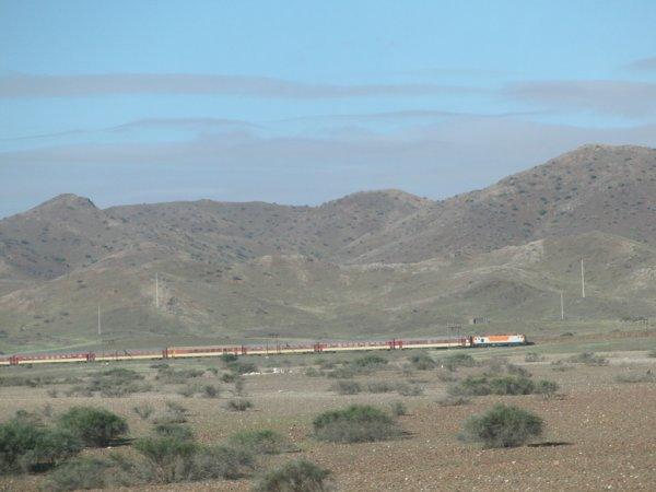 E 1400 entre Casablanca et Marrakech