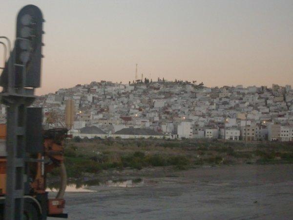 Panneau de signalisation....Tanger