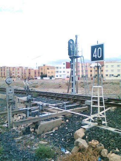 Panneaux de signalisation à Guercif...Par : Oussama Oufqir