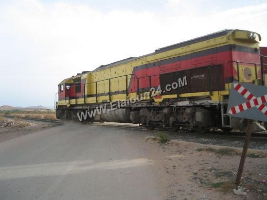 DH 350 au passage à niveau à El Aioune