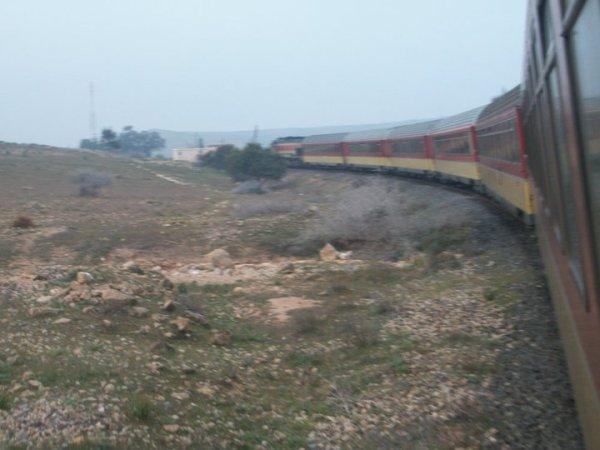 DH 373 Oujda-Tanger entre Oujda et Guercif