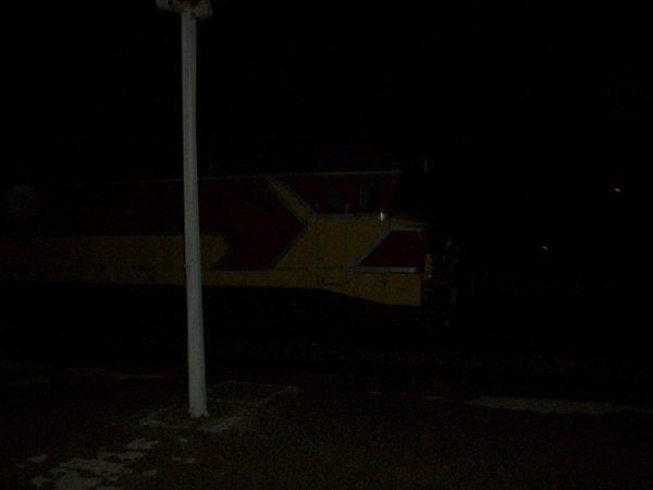 DF 111 à la gare de Taza