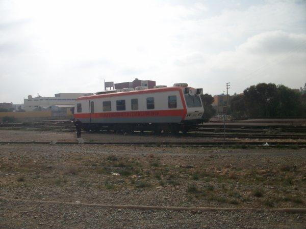 EM 120 ( vérification des rails ) à Guercif
