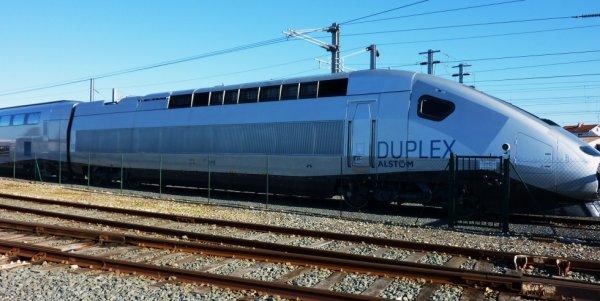 TGV Marocain de l'ONCF en essais en France 01/2014