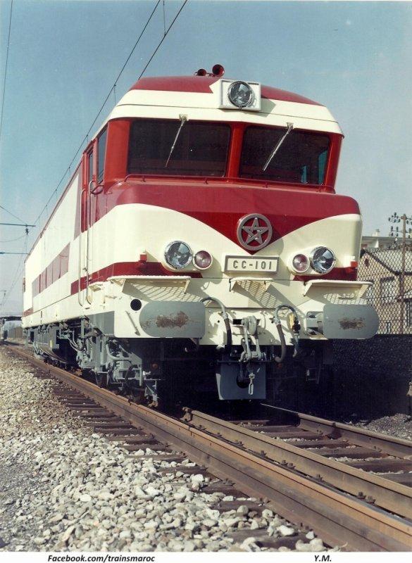 CC 101 / DF 101 / CC 72000 en 1969 à La Rochelle