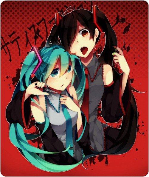 Miku Hatsune & Miku Zatsune *-*