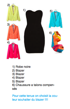 [tenue 04] Top colors !!!!