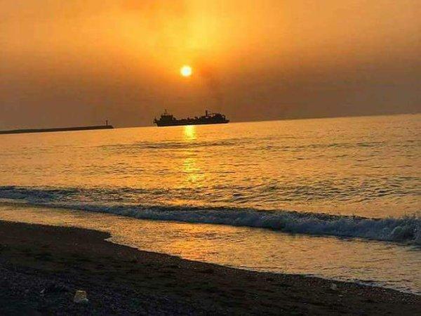 voila mon coucher de soleil....hh
