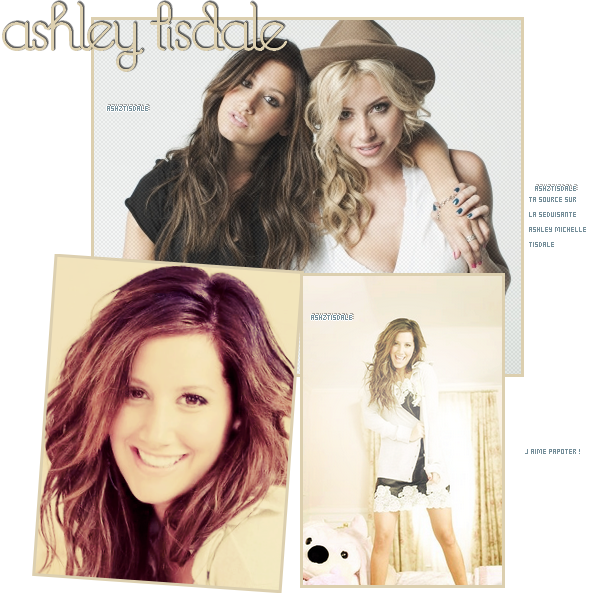 ► Ta source sur la belle Ashley Michelle Tisdale ♀