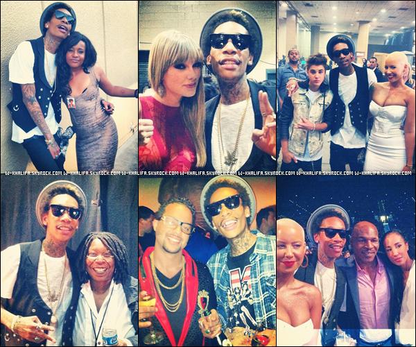"""* BILLBOARD MUSIC AWARDS 2012 Le 20/05, Wiz était présent à la cérémonie et remporta l'award """"Top New Artist"""" ! *"""