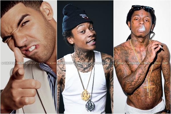 * Durant une interview, Wiz a révélé qu'il a invité Lil Wayne etDrakepour le remix de son single Work Hard Play Hard. *