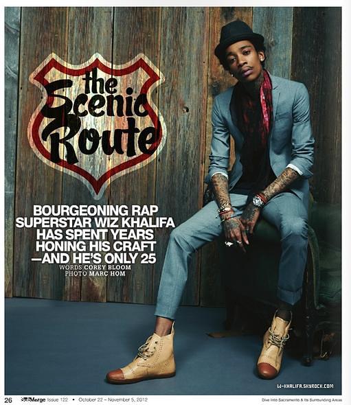 * Wiz fait la couverture du magazine SubMerge d'octobre/novembre. *