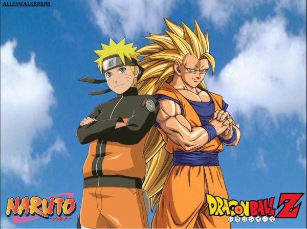Naruto & Goku  ? Dans un méme jeux vidéo ?