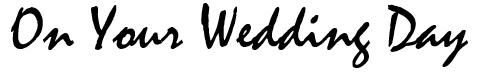 너의 결혼식 On Your Wedding Day-Kfilm