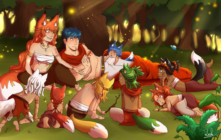 Storyteller Fox
