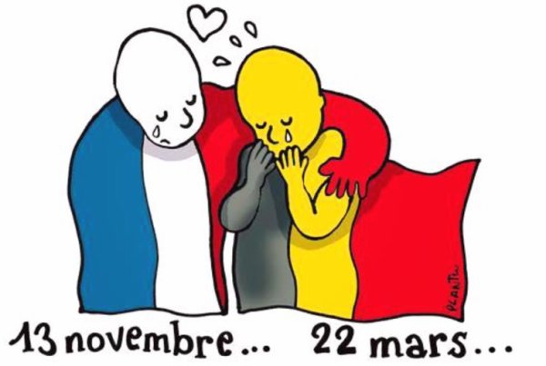#PrayforBruxelles