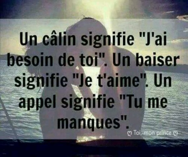 Oh Oui tu me manques