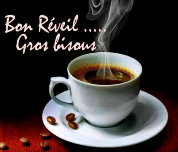 Bon café a vous   mes amis bisous bisous
