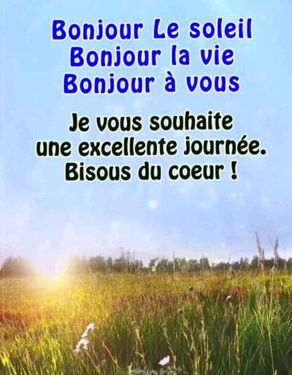 Bon week-end mes amis bisous bisous