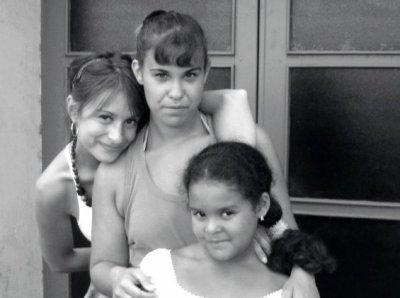 ma petite niece ma soeur et moi