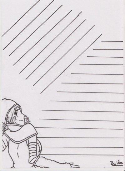 papier à lettre huhu :3