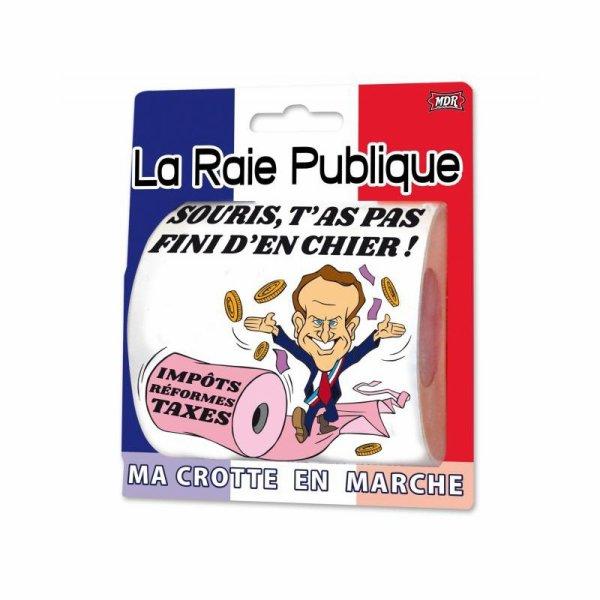 Papier WC Macron