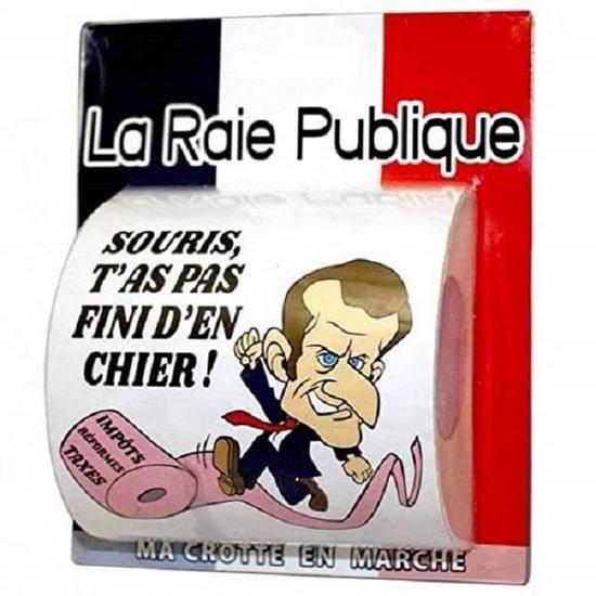Papier WC Macron 2