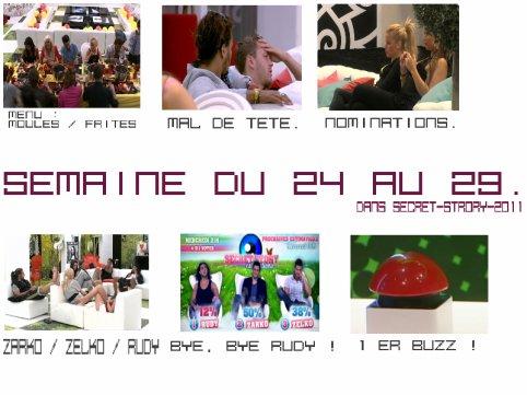 Semaine du 24 au 29 Juillet 2011.