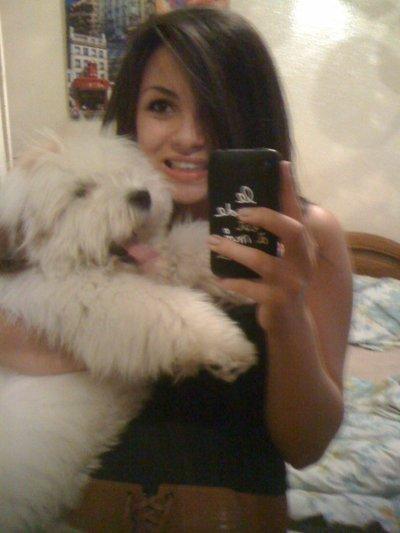 Moi et mon chien !