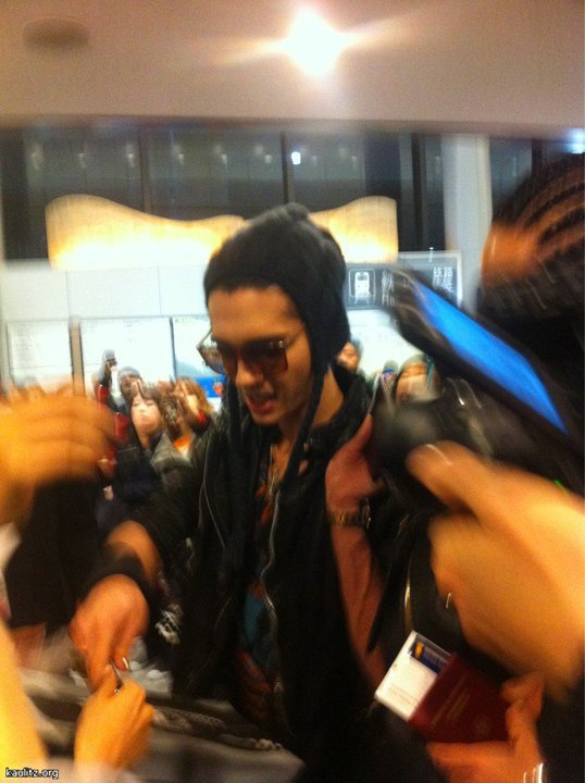 Tokio Hotel au Japon - 12.12.2010