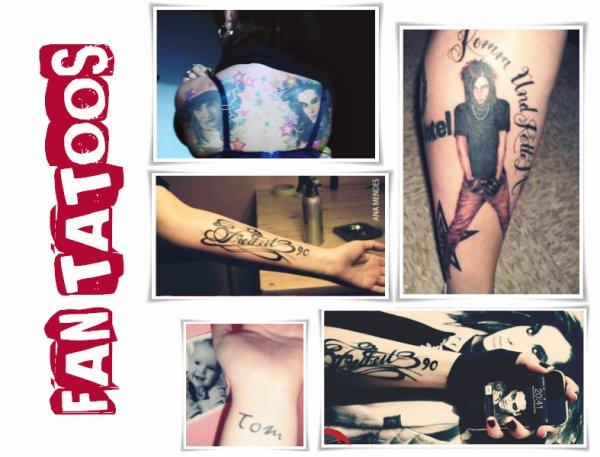 Tatouages de fans