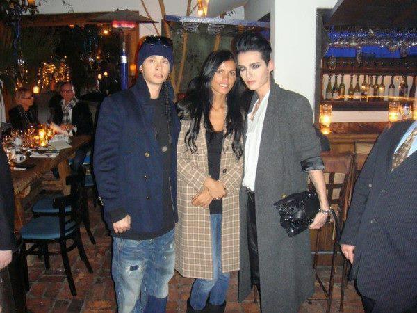 Bill & Tom Kaulitz - Party in Los Ángeles (24.08.11)