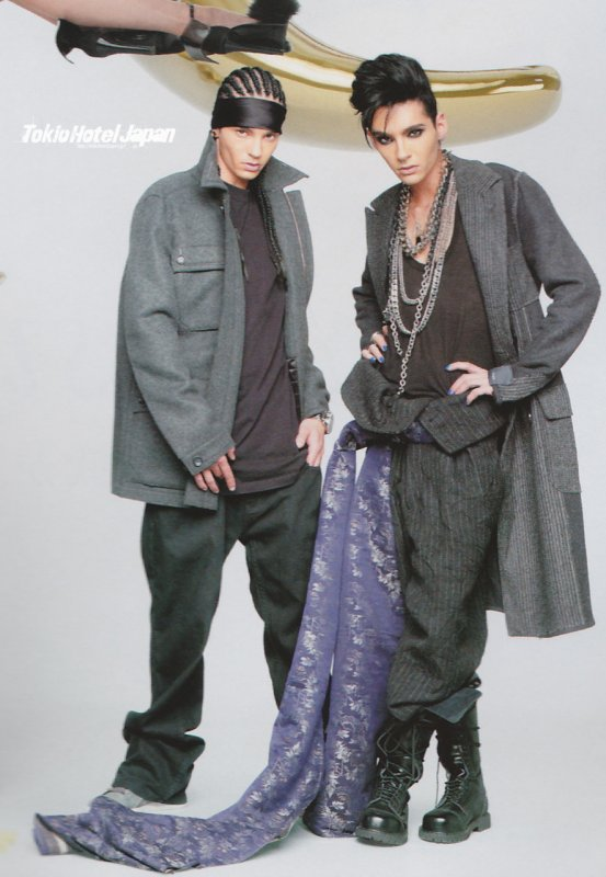 Tokio Hotel shoot: WWD (JP)