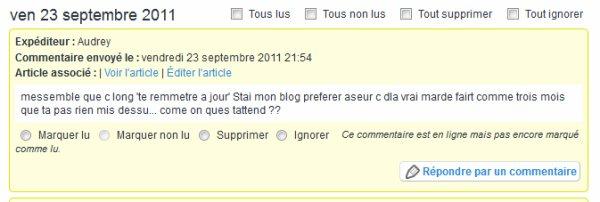 Ah la langue française... c'est pas simple pour tout le monde.