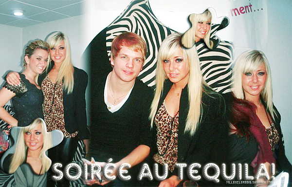 Stéphanie au Tequila en compagnie de Bastien et Aurélie