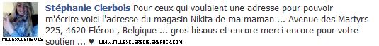 Photo + Statut Facebook !