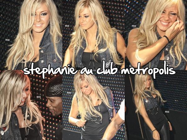 Stéphanie au Métropolis le 11 décembre ! (Métropolis /Loft)