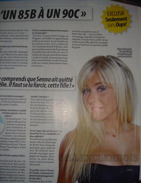 Stéphanie dans Oops ! (2) l'interview !