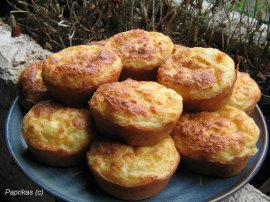 MINI CAKE  AU  CRABE (bouchee apperitive)