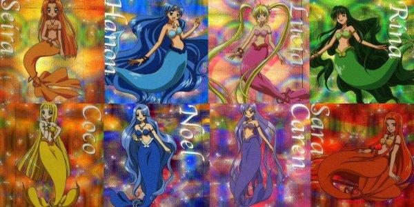 Les princesses sirènes