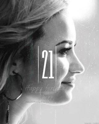 Joyeux Anniversaire Demi !