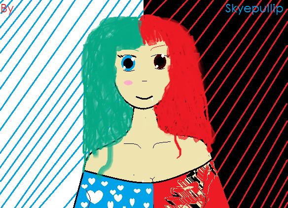 Un petit fan art de skyepullip =^^=