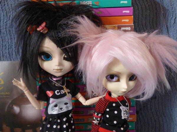 Nash et Isanna les fana du manga .